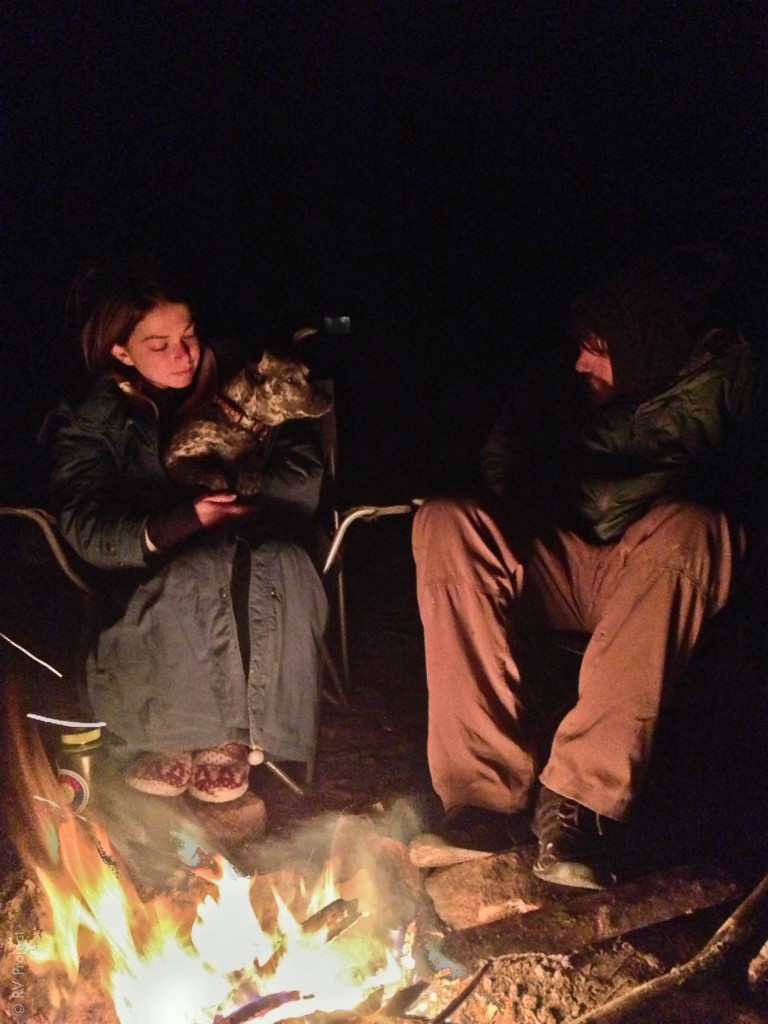 Enjoying one of the last campfires of Katie & Niko's year-long journey. Man, I miss these two so much!