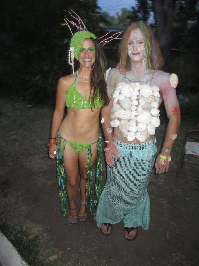 """""""Losers always whine about their best. Winners go home and fuck the prom queen."""" Or, in Ryan's case, he gets dressed up like a mermaid and parties with babes. @Ryan's dirty-30."""