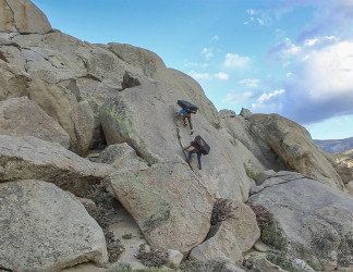 "Spenser's First Ascent in Bishop: Behind the Name ""I Don't Know Jack"""