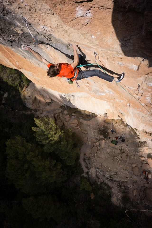 Siurana. Where the walls are like this. Can't wait to climb with these fools, though! Photo Cred: James Lucas.