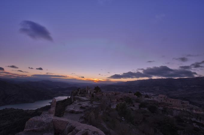 Siurana at SunsetHDR