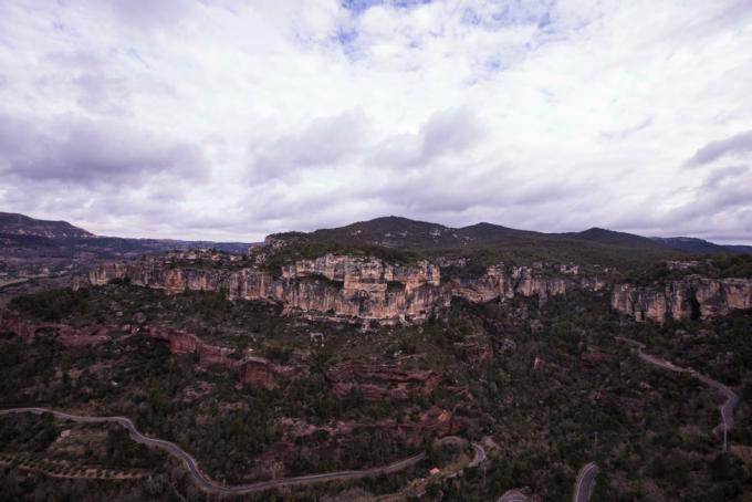 Cliffs for days. Siurana, Spain.