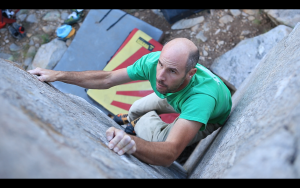 "Ty Tyler on ""TGTBA."" Here's some trivia, Tommy Caldwell wishes he had this boulder problem to train for Changing Corners."