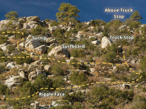 Nosos trail BEFORE
