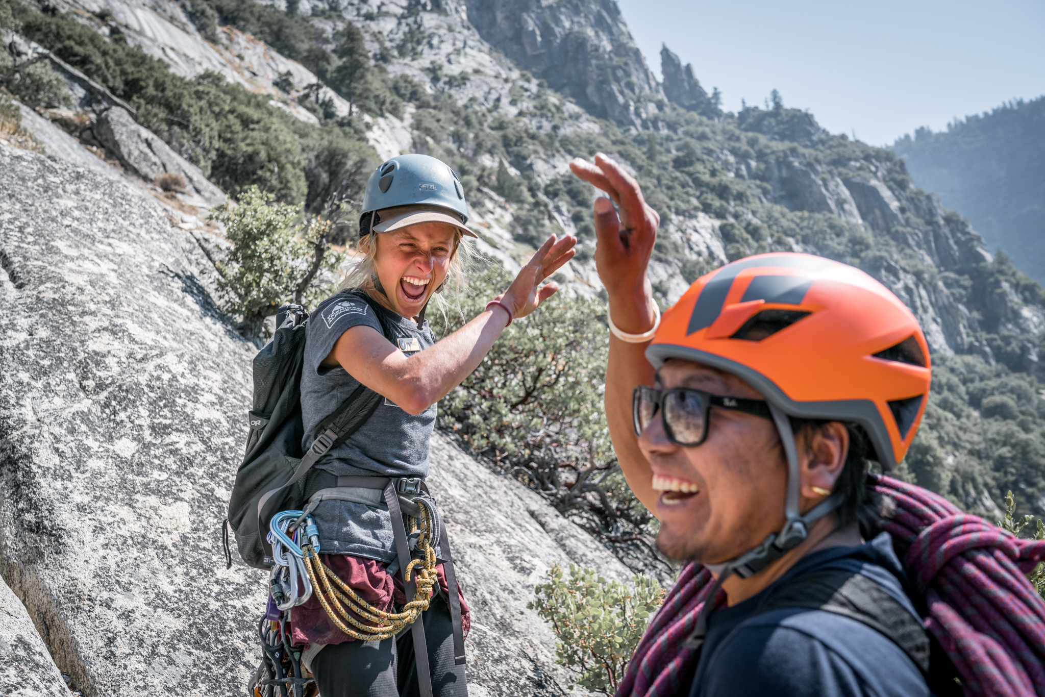 Yosemite's Newest Climbing Stewards